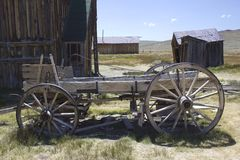 Bodie Ghost Town, Abandoned Cart Royalty Free Stock Photography