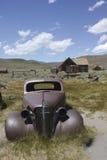 Bodie Ghost Town, Abandones-Auto Stockbild