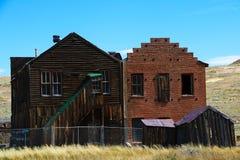 Bodie Ghost Town, câmara municipal abandonou a cidade de mineração do ouro, Califórnia fotografia de stock