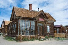 Bodie Ghost Town - Bodie, CA immagine stock