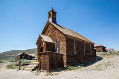 Bodie Ghost Town in Californië, de V.S. Stock Fotografie