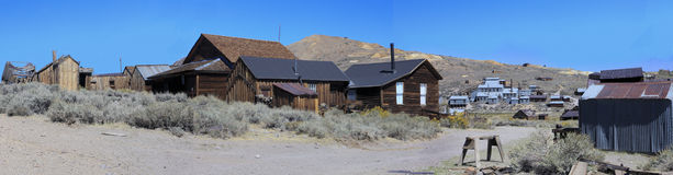 Bodie Ghost Town California stock foto's