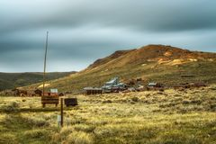 Bodie ghost town in California Stock Photos