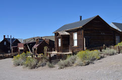 Bodie, the ghost town, California. Bodie, the ghost town, Historic buildings Royalty Free Stock Photos