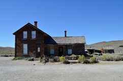 Bodie, the ghost town, California Royalty Free Stock Photo