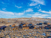 Bodie Ghost Town California State-Park Stockfotografie