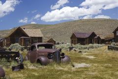 Bodie Ghost Town Stock Photography