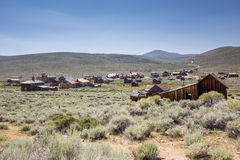 Bodie Ghost Town in California, USA. Royalty Free Stock Images