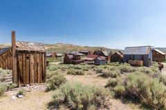 Bodie Ghost Town en California, los E.E.U.U. Fotos de archivo