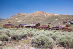 Bodie Ghost Town en California, los E.E.U.U. Imágenes de archivo libres de regalías