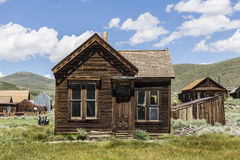 Bodie Ghost Town house Stock Photography
