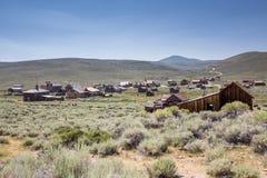 Bodie Ghost Town in Kalifornien, USA Lizenzfreie Stockbilder