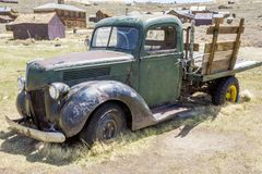 Bodie Ghost Town Old Truck photographie stock