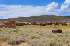 Bodie ghost town. View from Bodie Ghost Town, California USA. Old abandoned mine Royalty Free Stock Images