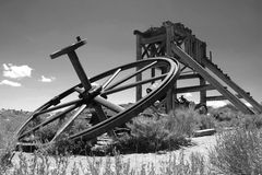 Bodie Ghost Town, wheel Stock Photography