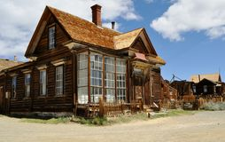 Bodie home. The home of J.S.Cain in Bodie Ghost town in California Stock Photo