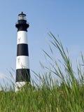 Bodie-Insel-Leuchtturm, äußere Querneigungen, Carolina Stockfotografie