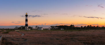 Bodie Island Light Panorama photo libre de droits