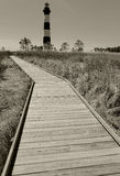 Bodie Island Light Station Sepia Stockbilder
