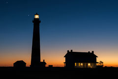 Bodie Island Lighthouse, äußeres Bnks-North Carolina stockbild