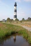 Bodie Island lighthouse. North Carolina stock images