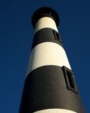 Bodie Island Lighthouse. Vertical photo of the tower of the Bodie Island Lighthouse royalty free stock photo