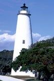 Bodie Island lighthouse. Exterior of Bodie Island lighthouse with blue sky background, Carolina, U.S.A stock photos