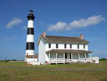 Bodie Island Lighthouse. One of the major lighthouses on the Outerbanks of North Carolina Stock Image