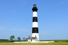 Bodie Island Lighthouse detail Stock Image