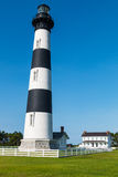 Bodie Island Lighthouse and Double Keeper`s Quarters Royalty Free Stock Photo