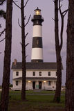 Bodie Island Lighthouse at Dusk Royalty Free Stock Photo