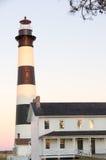 Bodie Island Lighthouse I Royaltyfri Bild