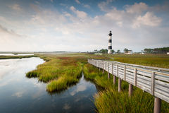Bodie Island Lighthouse North Carolina Outer Banks Royalty Free Stock Photo