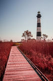Bodie Island Lighthouse OBX Cape Hatteras. North Carolina stock photography