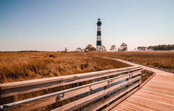 Bodie Island Lighthouse OBX Cape Hatteras Stock Photo