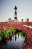 Bodie Island Lighthouse OBX Cape Hatteras Royalty Free Stock Images