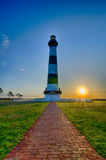 Bodie Island Lighthouse OBX Cape Hatteras Royalty Free Stock Photos