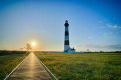 Bodie Island Lighthouse OBX Cape Hatteras. North Carolina royalty free stock photos