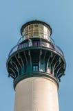 Bodie Island Lighthouse OBX udde Hatteras arkivbilder