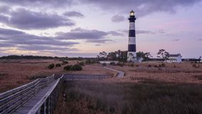 Bodie Island Lighthouse Outer Banks North Carolina. Bodie Island Lighthouse on the Cape Hatteras National Seashore in the Outer Banks of North Carolina stock photos