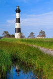 Bodie Island Lighthouse Reflection Royalty Free Stock Image