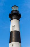 Bodie Island Lighthouse Top Royalty-vrije Stock Foto's