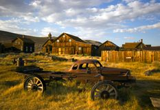 Bodie - pueblo fantasma Imagen de archivo libre de regalías