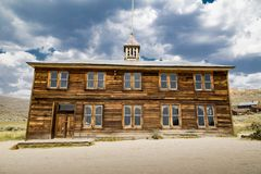 Bodie School Stockfotografie