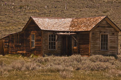 Bodie Shack and Graveyard. This is a picture of Bodie shack and graveyard - Bodie a state park and ghost town Royalty Free Stock Images