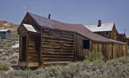 Bodie Shacks. This is a shot of a dilapidated shack at Bodie, California, a ghost town Stock Photography