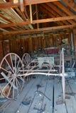 Bodie stanu Historyczny park: budowa fracht Obrazy Royalty Free