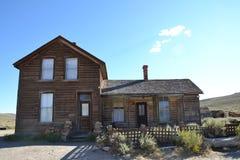Bodie stanu Historyczny park: westernu dom Zdjęcie Royalty Free