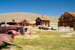 Bodie State Historic Park  Stock Image