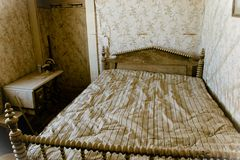 Bodie State Historic Park bedroom Royalty Free Stock Photography